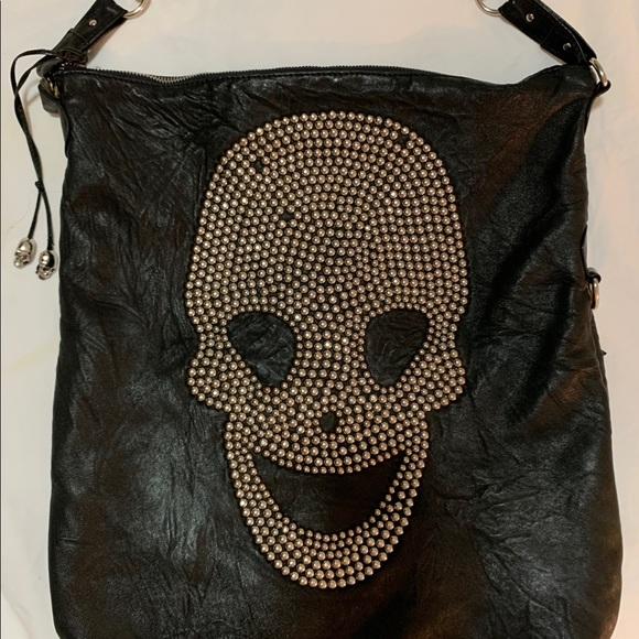 Thomas Wylde Handbags - Thomas Wylde Skull Bag Leather Studded Hand Bag